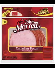 John Morrell Canadian Bacon Specialty Cuts 5 Oz Peg
