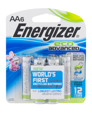 Energizer AA Eco Advanced Batteries - 6 CT