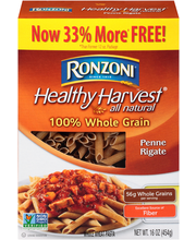 Ronzoni® Healthy Harvest® All Natural Penne Rigate Whole Whea...
