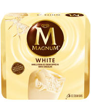 Magnum White 3.38 Oz Ice Cream Bars 3 Ct Box