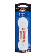 "Kiwi Sport Laces Flat White 63"""