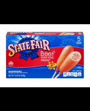 State Fair® 100% Beef Corn Dogs 5 ct Box