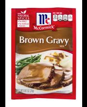 McCormick® Brown Gravy Mix, 0.87 oz