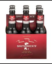 Smithwick's Premium Irish Ale Bottles - 6 CT