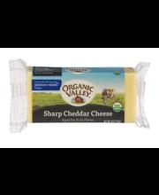 Organic Valley® Sharp Cheddar Cheese 8 oz. Brick