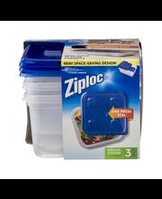 Ziploc® Medium Square Containers 3 ct Box