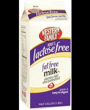 Wf Ff Lactose Free Milk