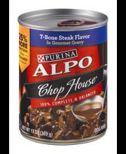 Purina ALPO Chop House T-Bone Steak Flavor In Gourmet Gravy D...