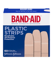 Band-Aid® Plastic Strips All One Size 60 ct