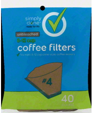 SIMPLY DONE COFFEE FILTERS #4