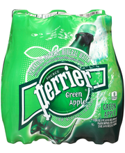 Perrier Green Apple Sparkling Natural Mineral Water 6-16.9 fl...
