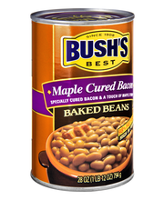 Bush's Best® Maple Cured Bacon Baked Beans 28 oz. Can