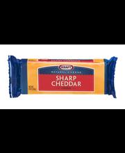 Kraft Natural Cheese Sharp Cheddar Cheese 8 oz. Pack