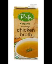 Pacific® Organic Free Range Chicken Broth 32 fl. oz. Aseptic ...