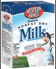 Wf Inst Non Fat Dry Milk 8Qt