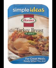 Hormel®   Sliced Roasted Turkey Breast & Gravy 15 oz. Tray