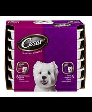 Cesar® Canine Cuisine Variety Pack Filet Mignon & Porterhouse...