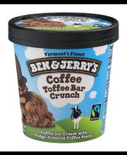 Ben & Jerry's® Coffee Toffee Bar Crunch 1 pt. Tub