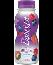 Dannon® Light & Fit® Nonfat Yogurt Drink Mixed Berry 7fl oz S...