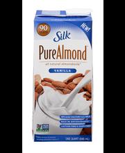 Silk® Vanilla Almondmilk 1 qt. Carton
