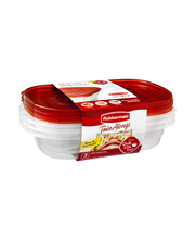 Rubbermaid Take Alongs Rectangle Containers with Lids - 3 CT