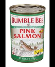 Bumble Bee® Wild Pink Salmon 14.75 oz. Can