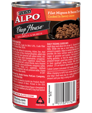 Purina ALPO Chop House Filet Mignon & Bacon Flavors Dog Food ...
