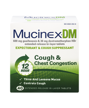 Mucinex® DM Extended-Release Bi-Layer Tablets Expectorant & C...