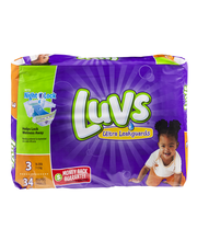 Luvs® Ultra Leakguards™ Size 3 Diapers 34 ct Pack