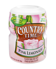 Country Time Pink Lemonade Drink Mix 19 oz. Canister