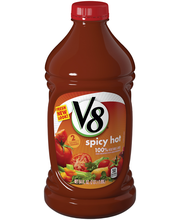 V8® Spicy Hot 100% Vegetable Juice, 64 oz.
