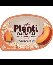 Yoplait® Plenti™ Peach Oatmeal with Greek Yogurt 5.5 oz. Cup
