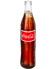 Coca-Cola® de Mexico Cola 500mL Glass Bottle