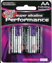 Wf Alk Battery Aa 4Pk