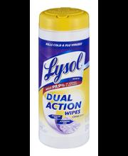 Lysol® Dual Action Citrus Scent Disinfecting Wipes 35 ct Plas...