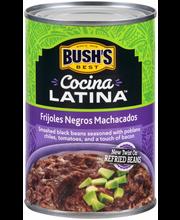 Bush's Best® Cocina Latina™ Frijoles Negros Machacados 16 oz....