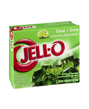 Jell-O® Lime Gelatin Dessert Mix 6 oz. Box