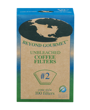 Beyond Gourmet Cone Style #2 Coffee Filters Unbleached - 100 CT