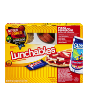 Lunchables Pepperoni Pizza Lunch Combinations 4.7 oz. Tray wi...