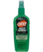 Off!® Deep Woods® Insect Repellent 6 fl. oz. Spray Bottle