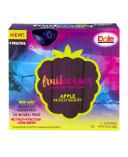 Dole® Fruitocracy™ Apple Mixed Berry Squeezable Fruit 4-3.2 o...