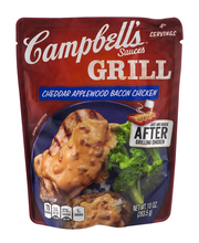 Campbell's® Grill Sauces Cheddar Applewood Bacon Chicken 10 o...