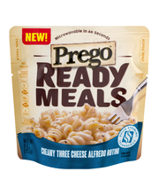 Prego™ Ready Meals Creamy Three Cheese Alfredo Rotini 9 oz.