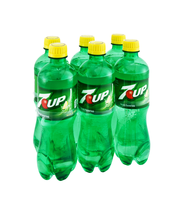 7 UP® Soda 6-0.5 L Bottles