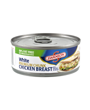 Swanson White Premium Chunk Chicken Breast with Rib Meat in W...