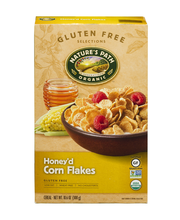 Nature's Path Organic Honey'd Corn Flakes Cereal Gluten Free