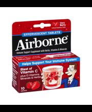 Airborne® Very Berry Immune Support Supplement Original Effer...