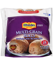 Rhodes Bake-N-Serv® Frozen Multi-Grain Rolls Dough 24 ct Bag