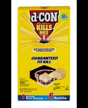 D-Con® Refillable Bait Station Mouse Trap Kit 6 ct Box