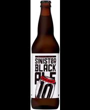 10 Barrel Brewing Co Sinistor Black Ale Beer 22 oz. Bottle